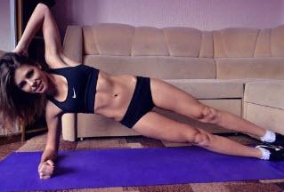 Упражнение для похудения — планка