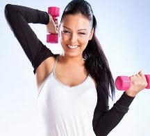 Упражнения для рук с гантелями