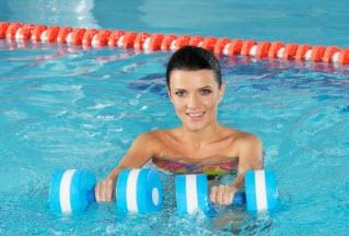 Похудение с помощью упражнений аквааэробики