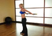 Упражнения с гимнастической палкой