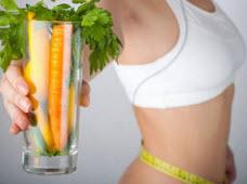 Коктейли для похудения живота