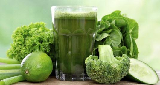 Зеленый коктейл для похудения