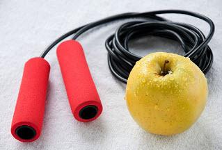 Как похудеть с помощью скакалки?