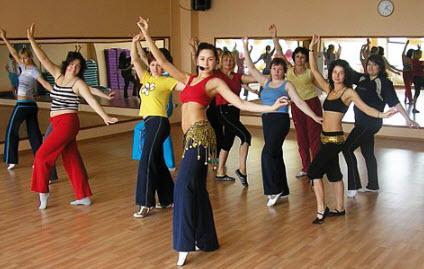 Упражнения для танцев живота