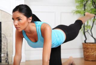 Комплекс упражнений для похудения проблемных мест