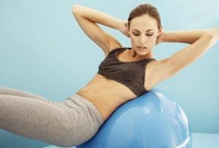 Комплекс упражнений с фитболом и медболом