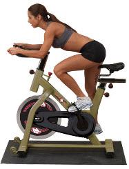 Как тренироваться на велотренажере?