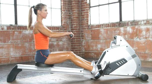 Гребный тренажер для похудения