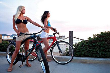 Велосипедные прогулки для похудения