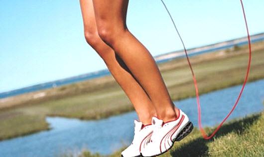 Упражнения на скакалке